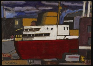 Ship dockside - Augusto Torres, Cecilia De Torres Ltd.