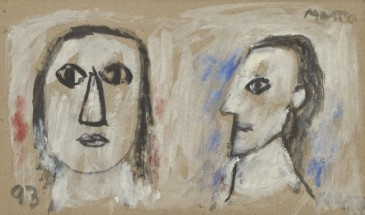 Two portraits - Francisco Matto, Cecilia De Torres Ltd.