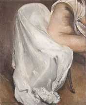 Figure with white throw on chair - Horacio Torres, Cecilia De Torres Ltd.