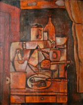 Still life in orange - José Gurvich, Cecilia De Torres Ltd.