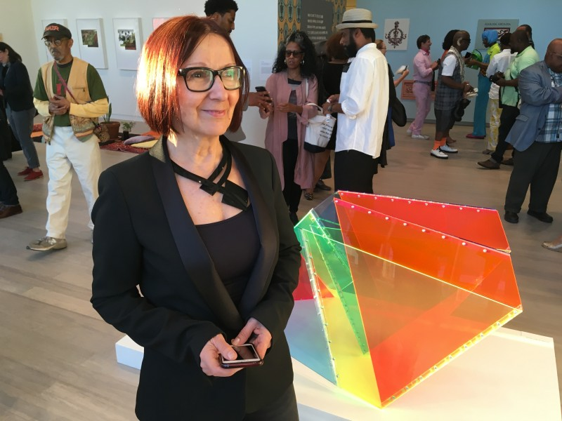 Marta Chilindron at The Wallach Art Gallery exhibition