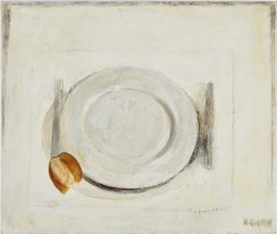 Plato y Pan (Plate and bread) - Linda Kohen, Cecilia De Torres Ltd.