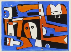 Forms in Blue, Red, Black and White - José Gurvich, Cecilia De Torres Ltd.