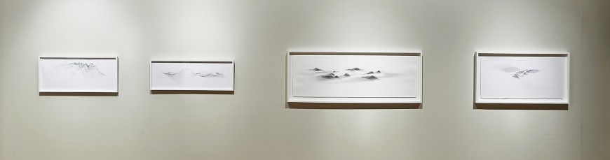 View of Julian Teran's drawings, Cecilia De Torres Ltd.
