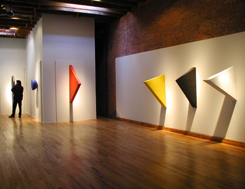 Educardo Costa installation at Cecilia de Torres, New York - Eduardo Costa, Cecilia De Torres Ltd.