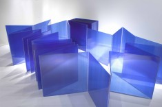 "Marta Chilindron's ""Blue Cube 48"" now part of The Phoenix Art Museum Collection"