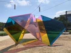 Marta Chilindron's Houston Mobius now on view at the University of Houston