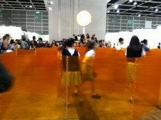Cube 48 Orange at Art Basel Hong Kong