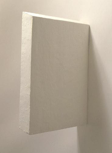 White Medium Rectangle Painting - Eduardo Costa, Cecilia De Torres Ltd.