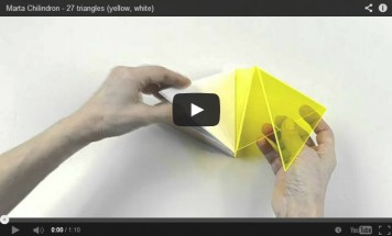 VIDEO: 27 Triangles - Marta Chilindron, Cecilia De Torres Ltd.