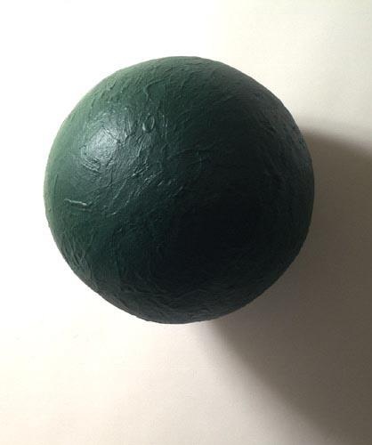 Green Sphere Painting - Eduardo Costa, Cecilia De Torres Ltd.