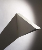 White Medium Triangle - Eduardo Costa, Cecilia De Torres Ltd.